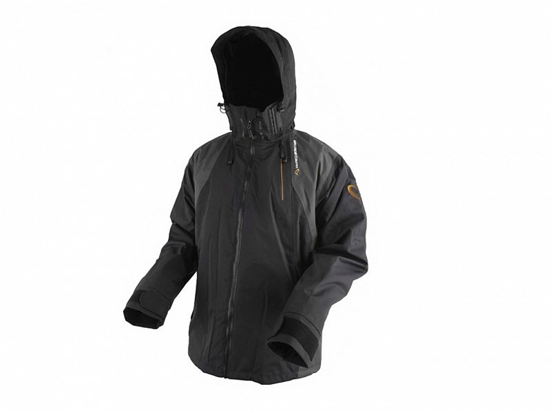 Savage Gear Bunda Black Savage Jacket Grey